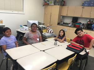 Crow students create podcast that earns praise, airtime on NPR