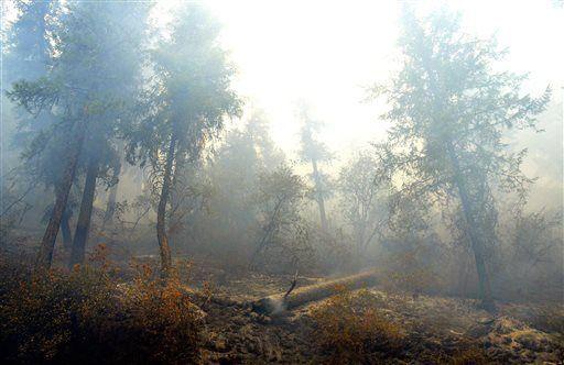 Western wildfires: Wind, heat, dry land fueling large blazes (copy)