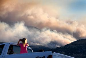 Lolo Peak fire update: Firefighter injured; 'Next few days will tell the tale'