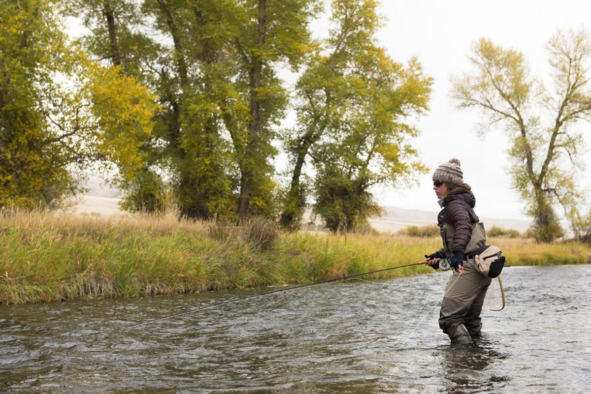 Best fly fishing of the year is in fall outdoors for Chicago fly fishing