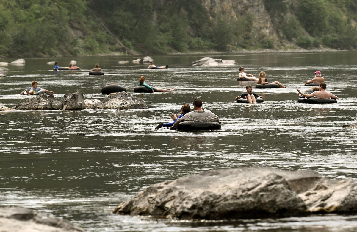 Blackfoot River Tubing