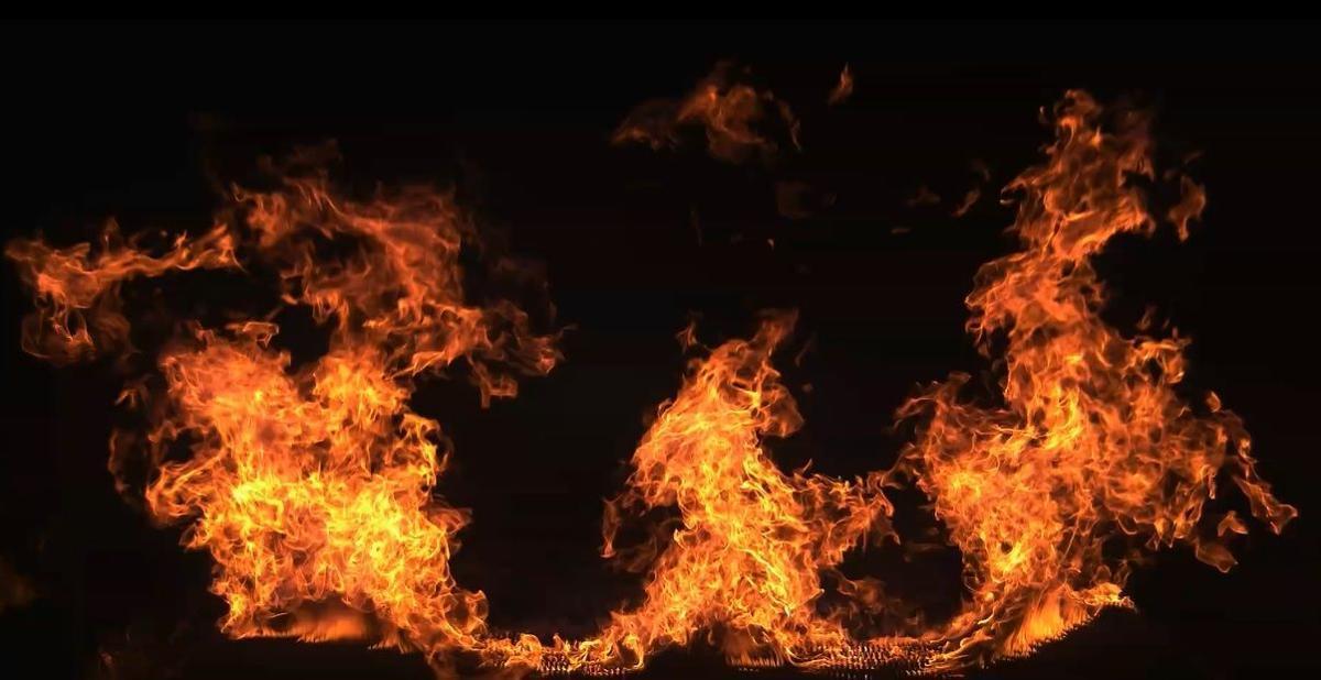 flame vortex