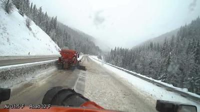 Lookout Pass, I-90 plagued with crashes, slideoffs due to