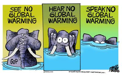 Republicans refuse to acknowledge global warming