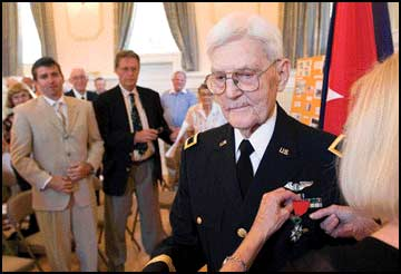 World War II hero Foster receives France's highest honor