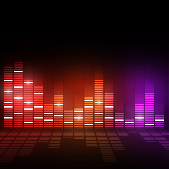 music equalizer stockimage