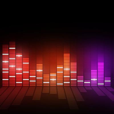 music equalizer stockimage