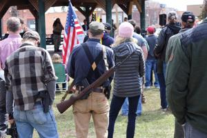 'We must speak' - Gun rights activists rally in Kalispell