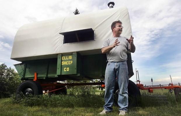 Restoring Antique Sheep Wagons | Territory | Missoulian.Com