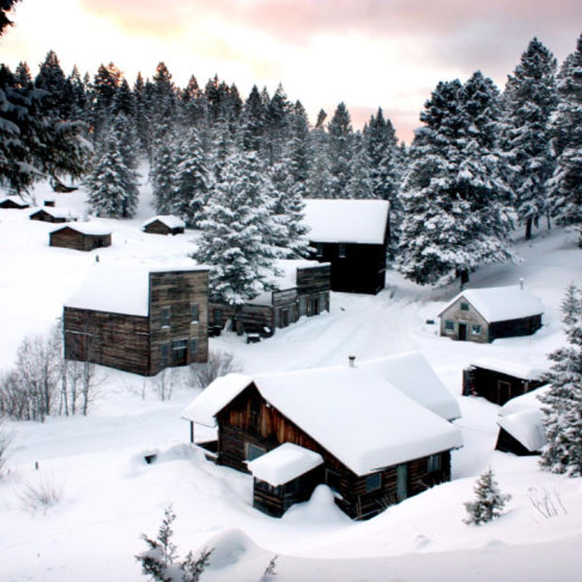 Garnet Ghost Town Cabins Offer Overnight Winter Adventure Outdoors Missoulian Com