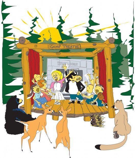 2011 Summer Camps Illustration