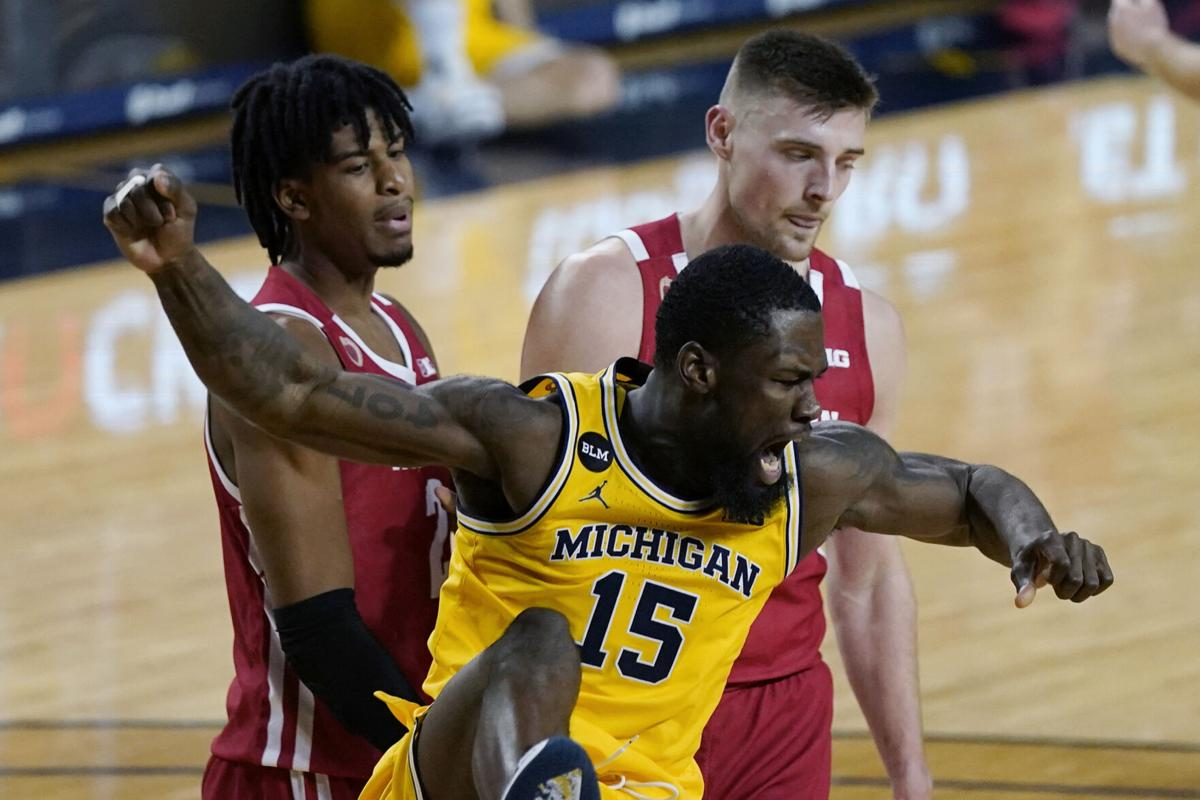 APTOPIX Wisconsin Michigan Basketball