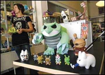Artist S Playground Shop Sells Anime Influenced Designer Toys