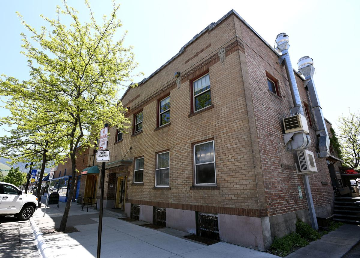 Downtown buildings housing Old Post, Worden's for sale for