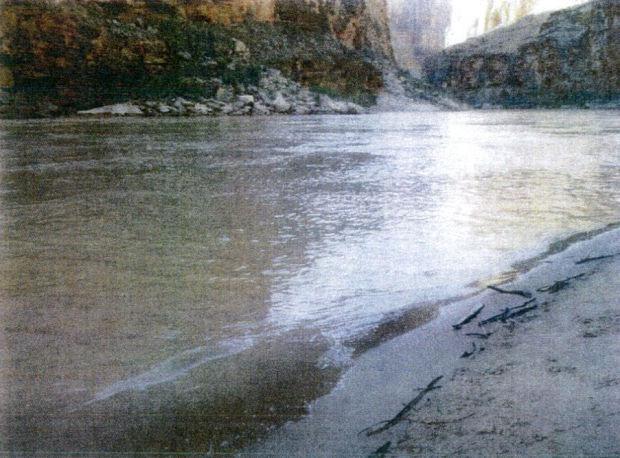 Colorado River eddy
