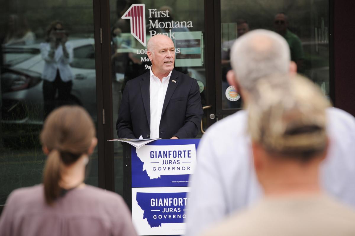 Republican gubernatorial candidate U.S. Rep. Greg Gianforte