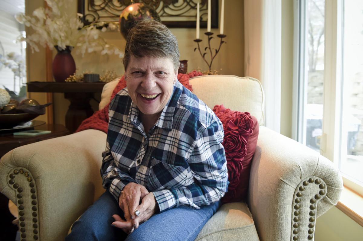 Peggy Chilton smiles for a portrait Thursday