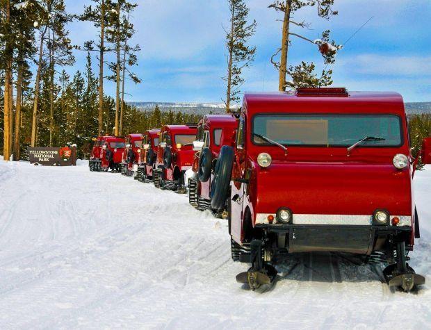 Bombardier snowdcoaches