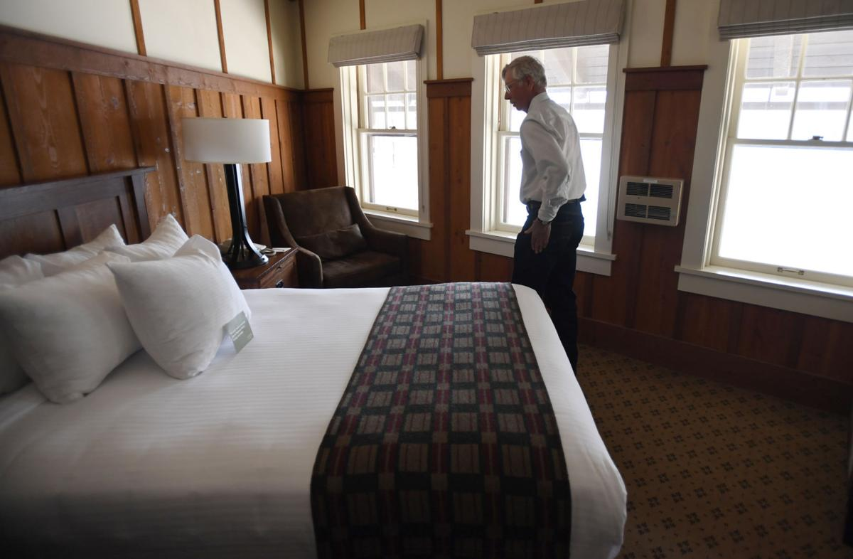 history saved renovations completed on historic many glacier hotel