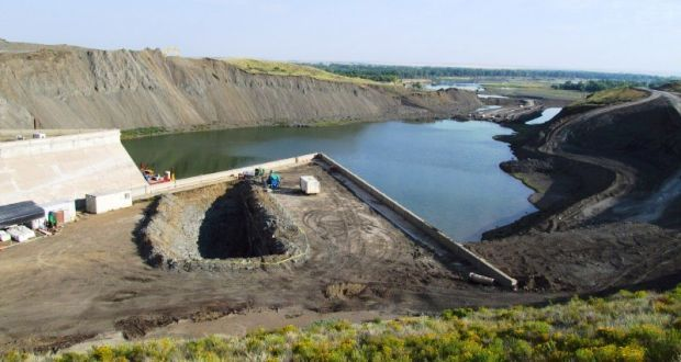 Work Continues To Repair Fort Peck Dam