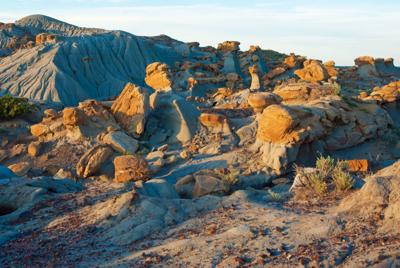 """Badlands of North Jordan from """"This is Montana"""""""