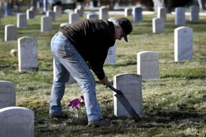 Feature photo: Caretaking the cemetery