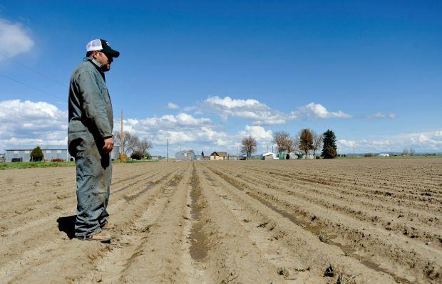 Worden farmer Terral Balzer