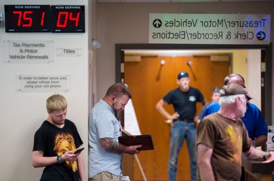 Take a number: Long lines greet Missoulians trying to register