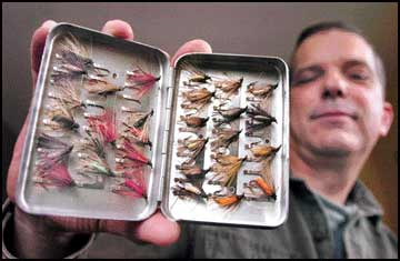 Tying tradition / Hooked on Art to feature Franz Pott's legendary flies