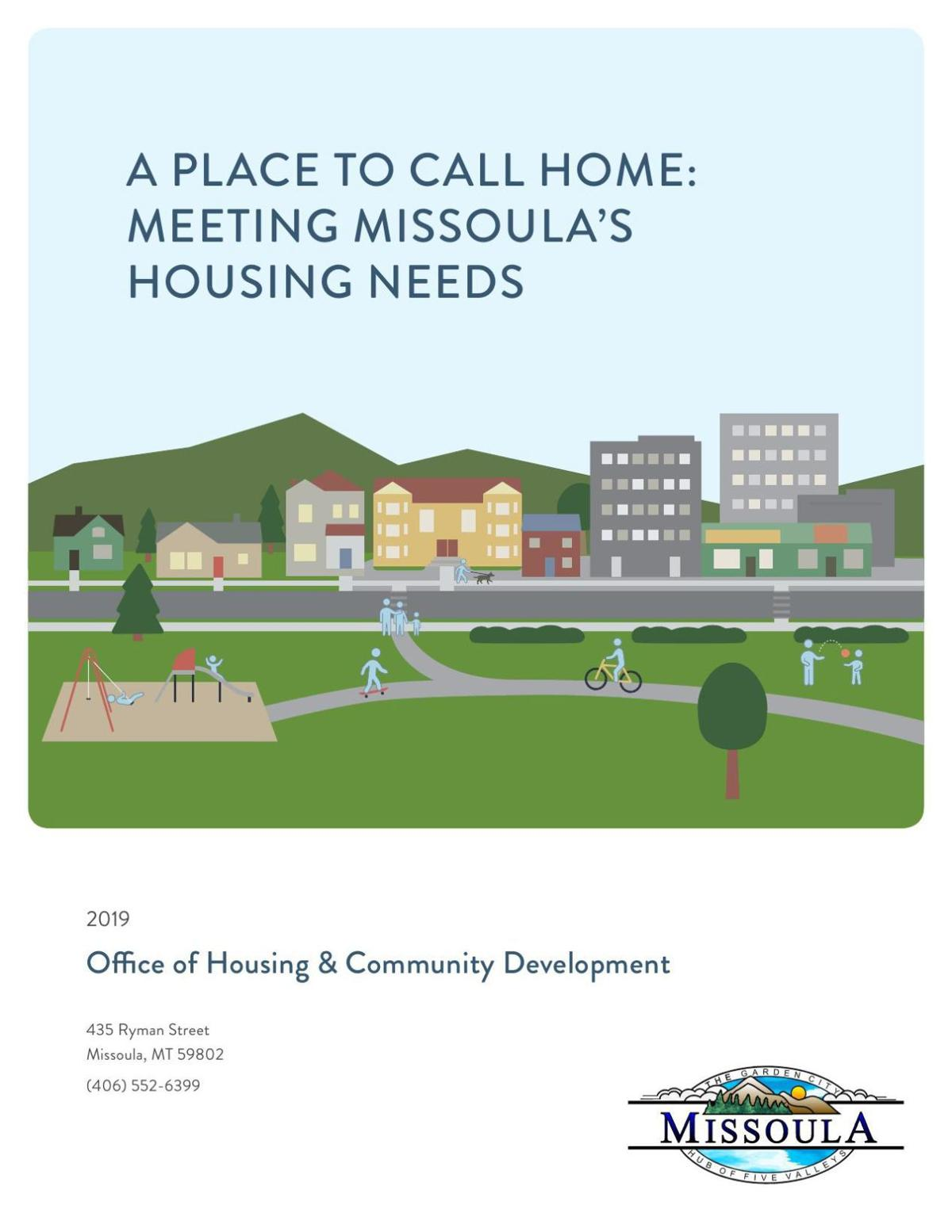 A Place to Call Home: Meeting Missoula's Housing Needs