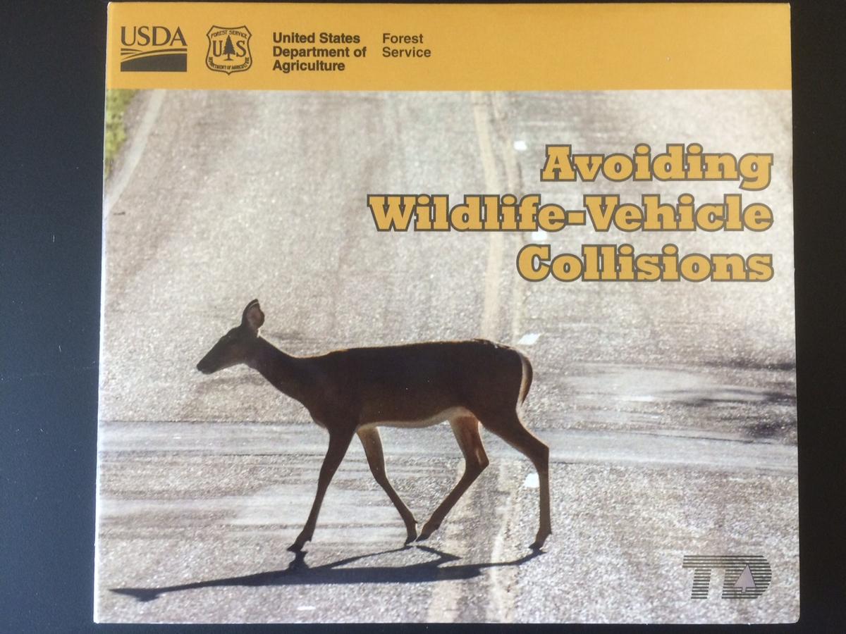 STANDARD Avoiding Wildlife-Vehicle Collisions (copy)