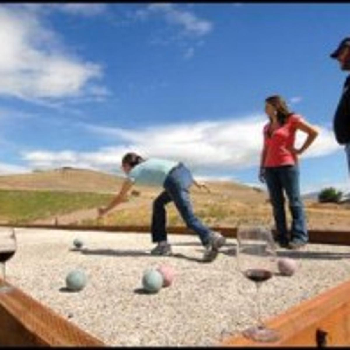 Have A Ball Local Winery Installs Regulation Size Bocce Court