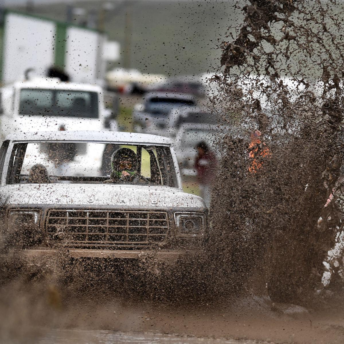 Montana's beefiest trucks get a last chance at mudding, for