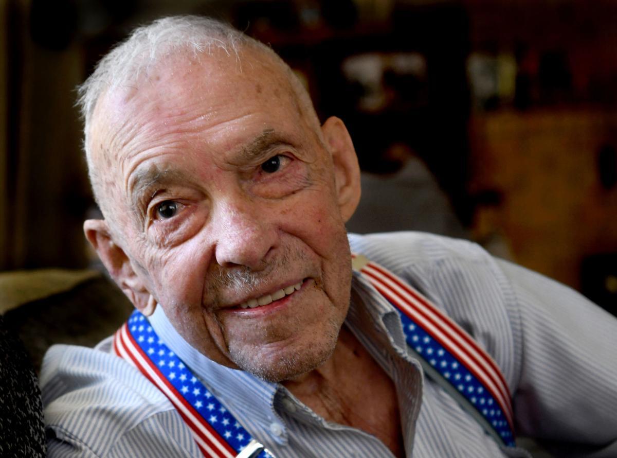 John Nelson D-Day survivor