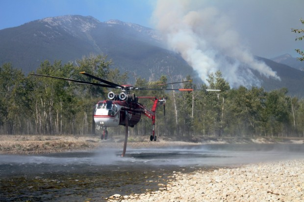 Downing Mountain fire
