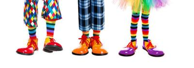 Clown feet
