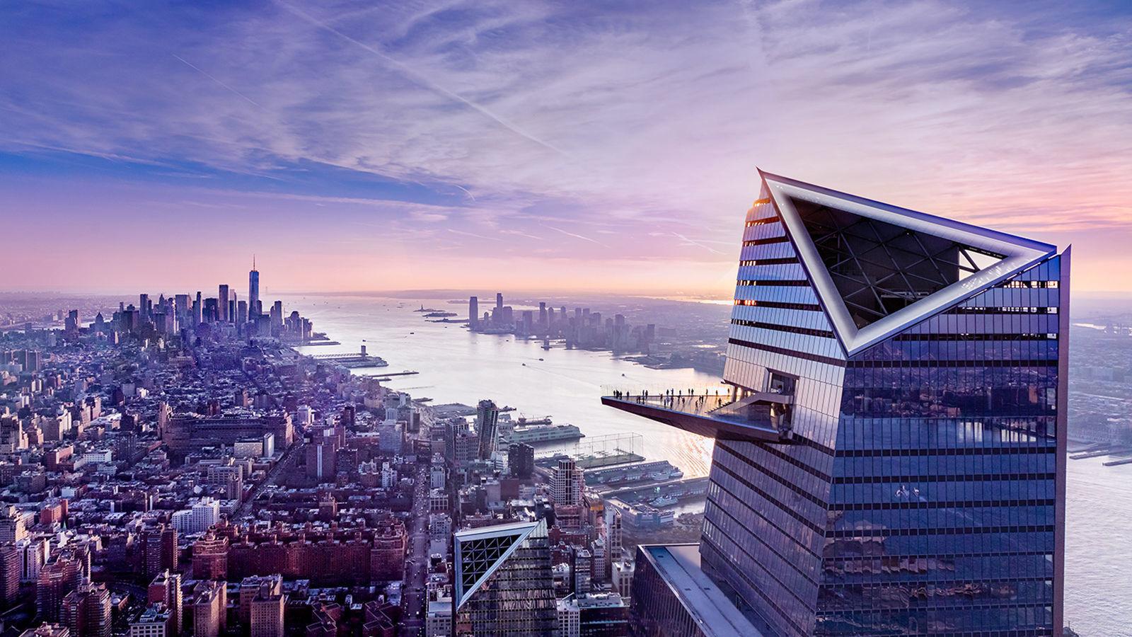 Highest sky deck in Western Hemisphere takes visitors to edge in New York
