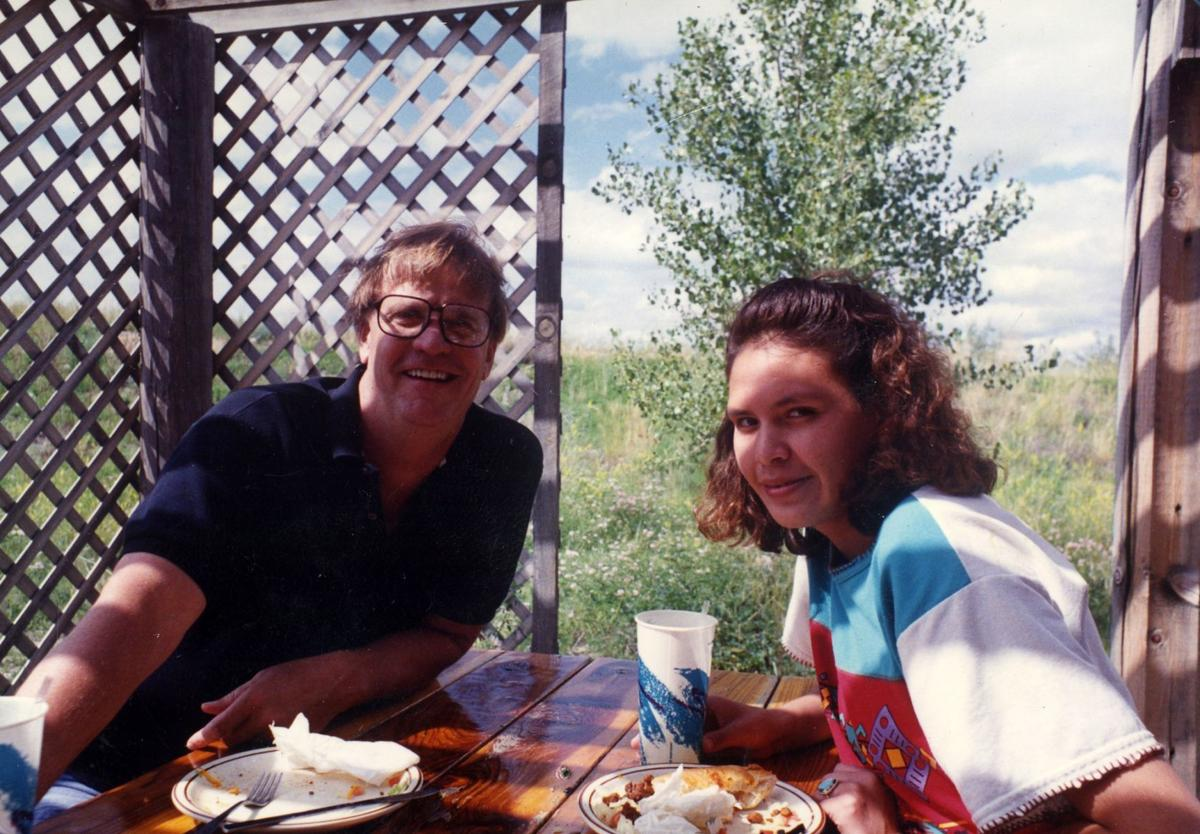 Larry Colton and Sharon LaForge in 1993