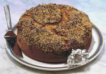 Sweet celebration — New Year's bread with coin baked inside honors Greece's St. Basil