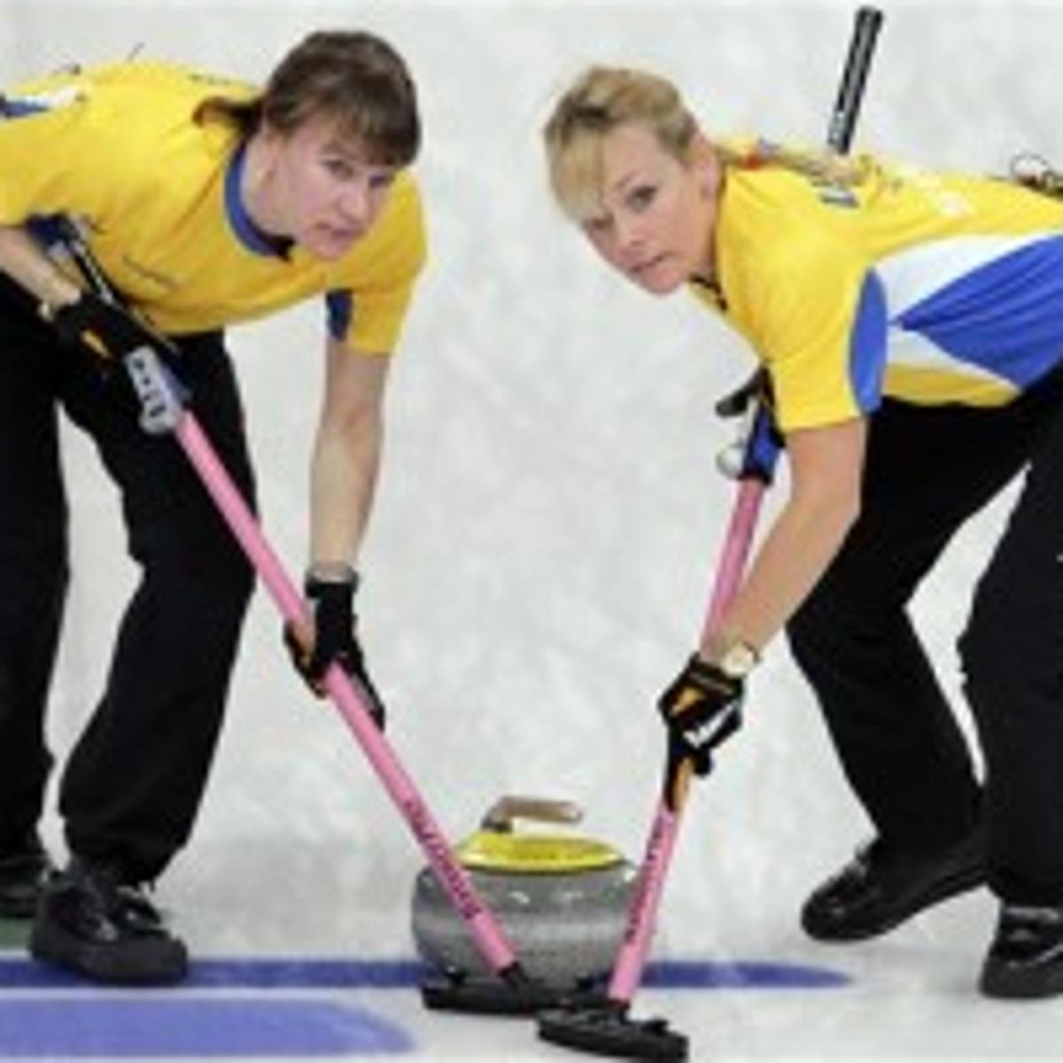 Anette Norberg sweden wins 2nd straight gold in women's curling | olympics