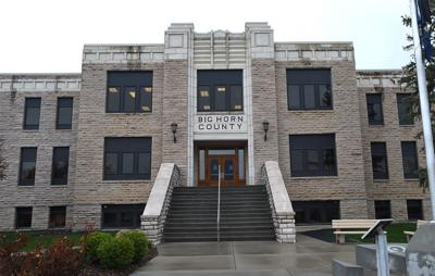 Big Horn courthouse