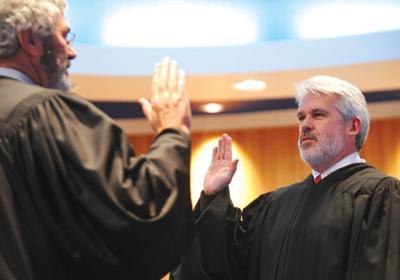 Jim Shea sworn in