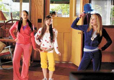 Disney starlets rock the camp wardrobe