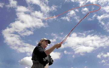 Fly-fishing with a feminine touch