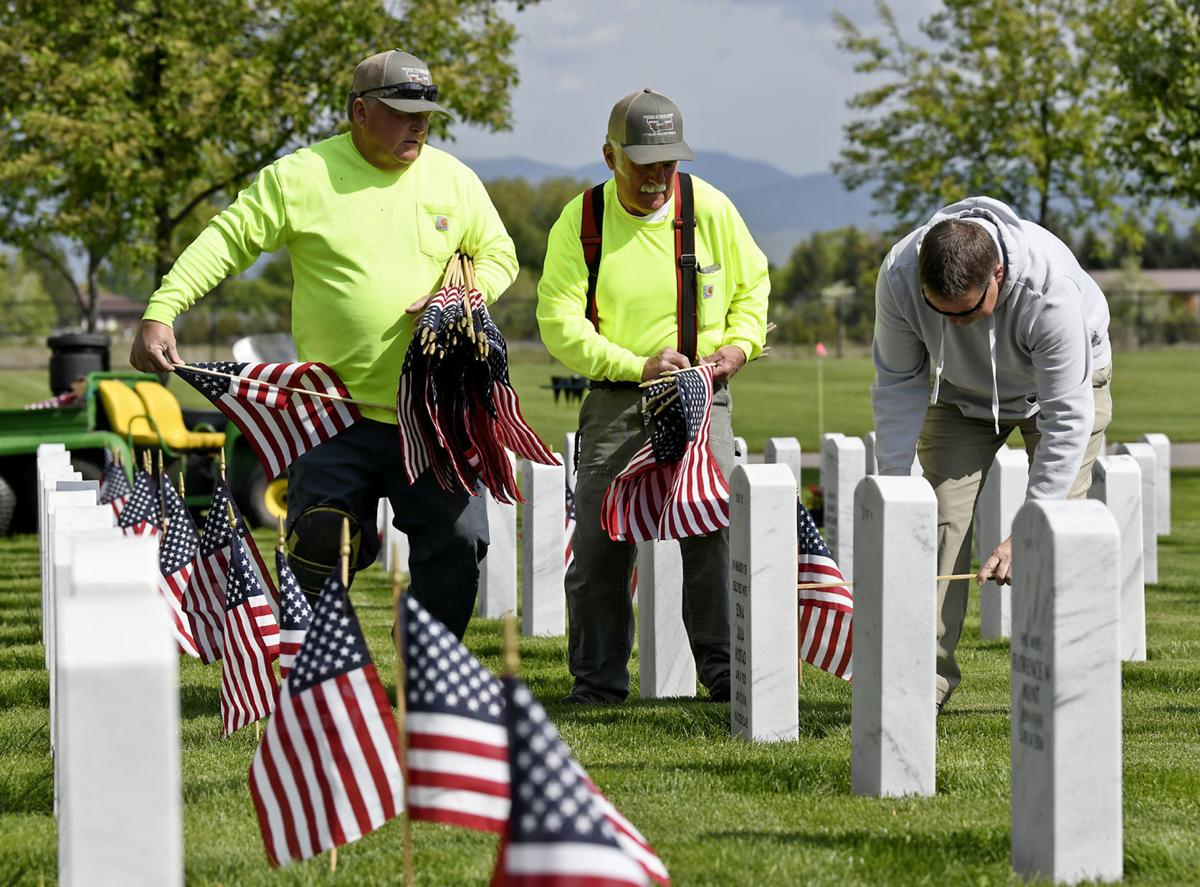 Cemetery Flags