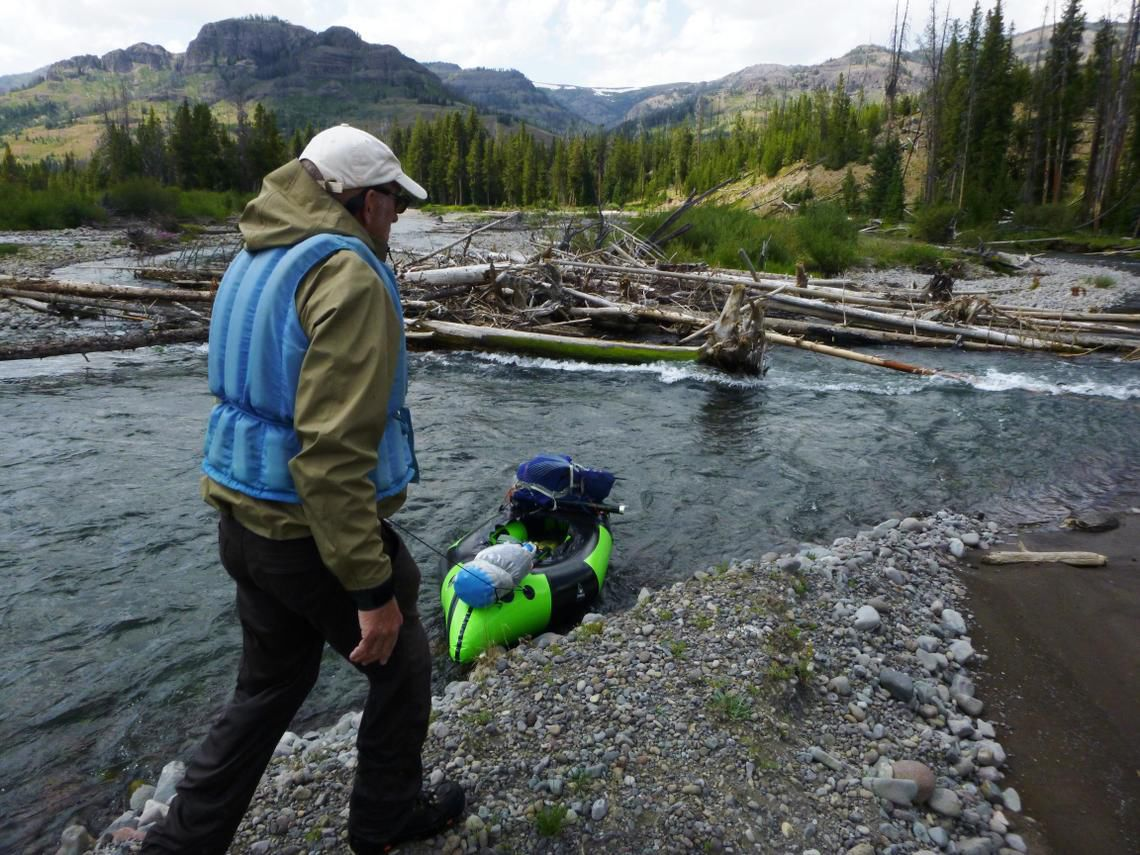 Packrafting the Thorofare