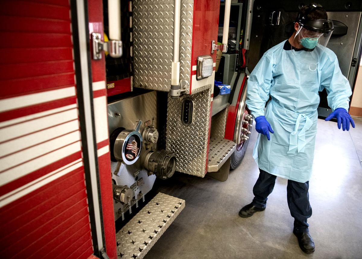 Fire Department personal protective equipment