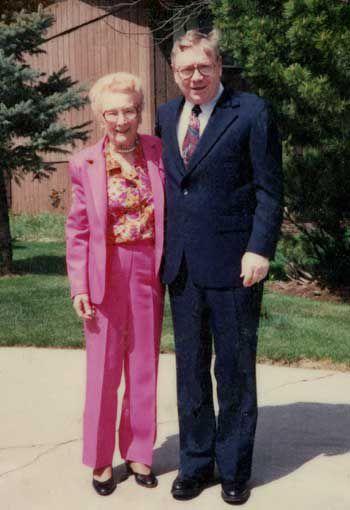 Maryfrances Shreeve and son William C. Shreeve