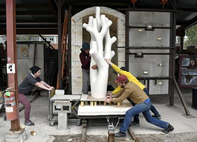 Sizable sculptures: Giant kiln expands possibilities for Montana ceramicists
