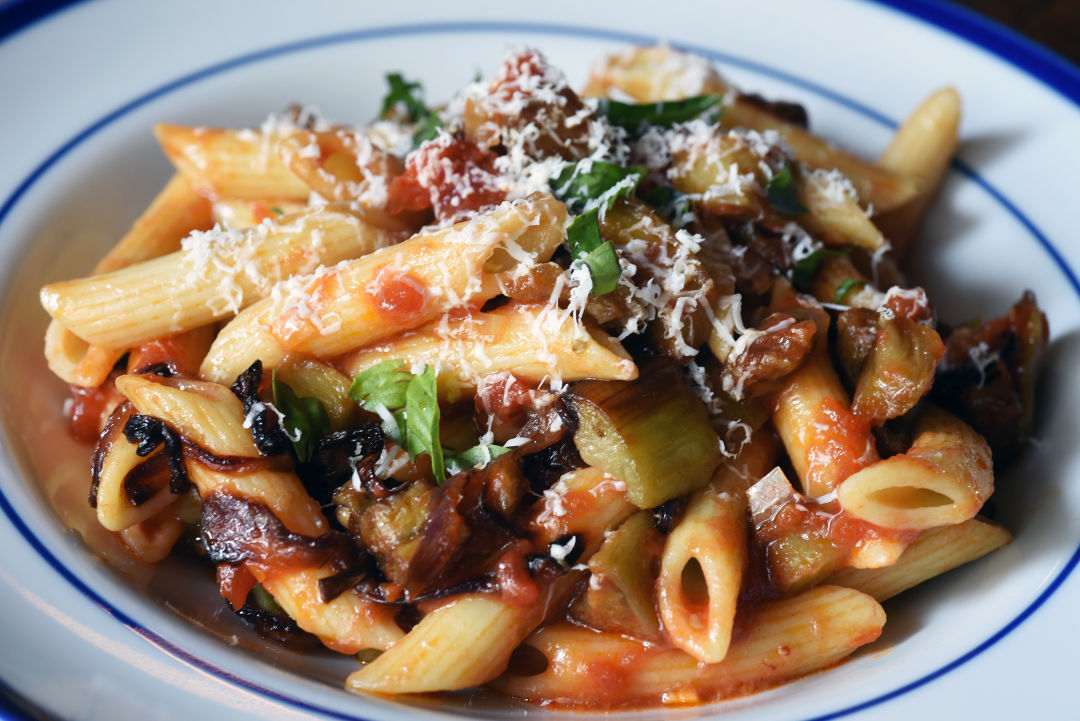 Greg patent eggplant a lyrical addition to pasta food from the greg patents 2015 recipes series forumfinder Gallery